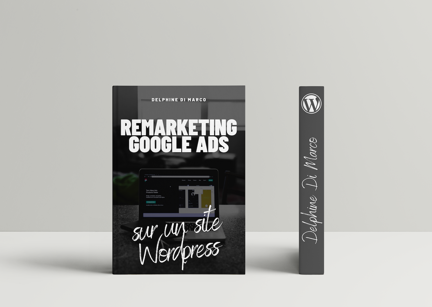 Remarketing Wordpress Mockup